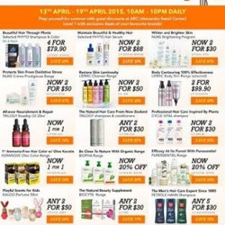 Pre-Summer Clearance Sale @ Beauty by nature