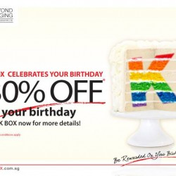 30% Off on your birthday @ K Box