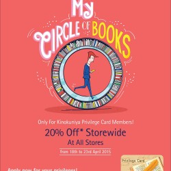 20% off World Book Day Promotion @ Kinokuniya