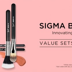 20% OFF Sigma Beauty Limited Edition Sets @ Luxola