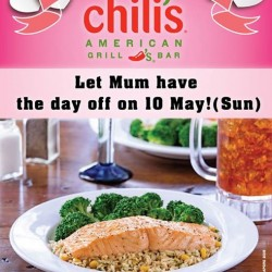 $10 off for Mother's Day diners @ Chili's