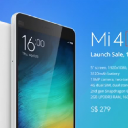 The Mi 4i goes on sale on Tuesday