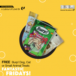 FREE Burp for your pets @ Pet Lovers Centre