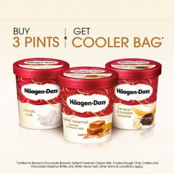 Free cooler bag with purchase @ Häagen-Dazs