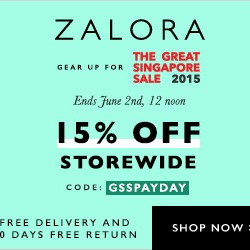 GSS Pay Day Sale @ Zalora