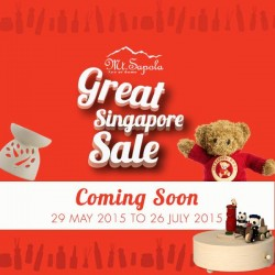 Great Singapore Sale @ Mt Sapola and 365 Days