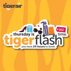 Thursday Tiger Flash @ Tiger Air