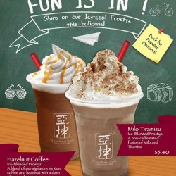 June School Holidays Frostyz @ Ya Kun Kaya Toast