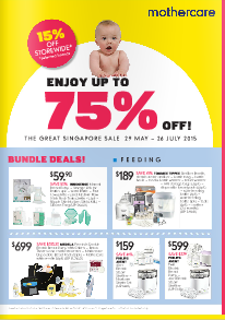 Mothercare's Great Singapore Sale 2015