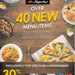30% off all entree items @ Pizza Hut
