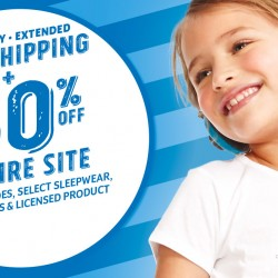 50% off store-wide @ THE CHILDREN'S PLACE US