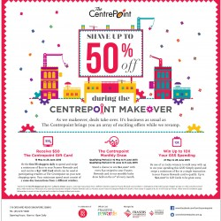 Shave up to 50% off @ Centre point