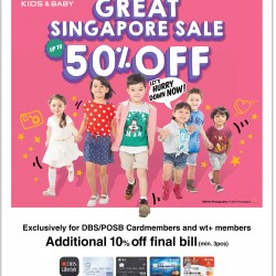 50% off great Singapore sale @ FOX
