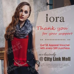 CityLink Mall Promotion @ Iora