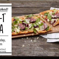 1-FOR-1 Gourmet Pizza @ Marché Mövenpick Asia Square