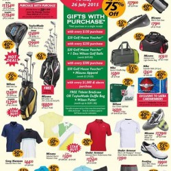The GOLF HOUSE GREAT SINGAPORE SALE