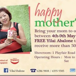 Mother's Day Promotion @ Yilai Abalone