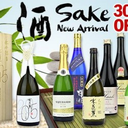 30% off new arrival Sake collection @ The Oaks Cellars