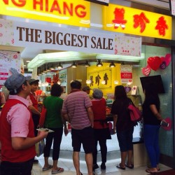 Mother's Day Biggest Sale @ Bee Cheng Hiang Clementi Central