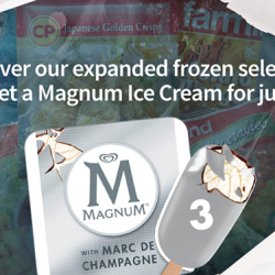 Magnum Ice Cream for just 1¢ @ Redmart