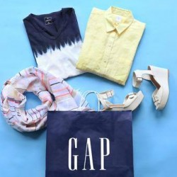 20% off with min. 3 pcs purchase @ GAP