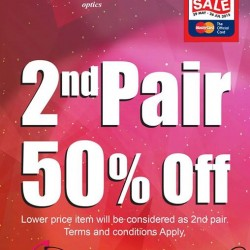 BUY 1 GET 50% OFF FOR 2ND PAIR @ Wink Optics