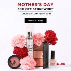 30% Off Storewide Mother's Day Flash Sale @ Luxola