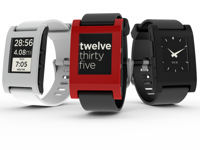 Pebble/Pebble Steel Smartwatch for iPhone & Android @ pebble