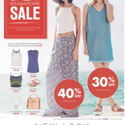 Great Singapore Sale Promotion @ New Look