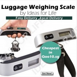 Premium Electronic Digital LCD Luggage Scale Digital Luggage Scale @ Qoo10.sg
