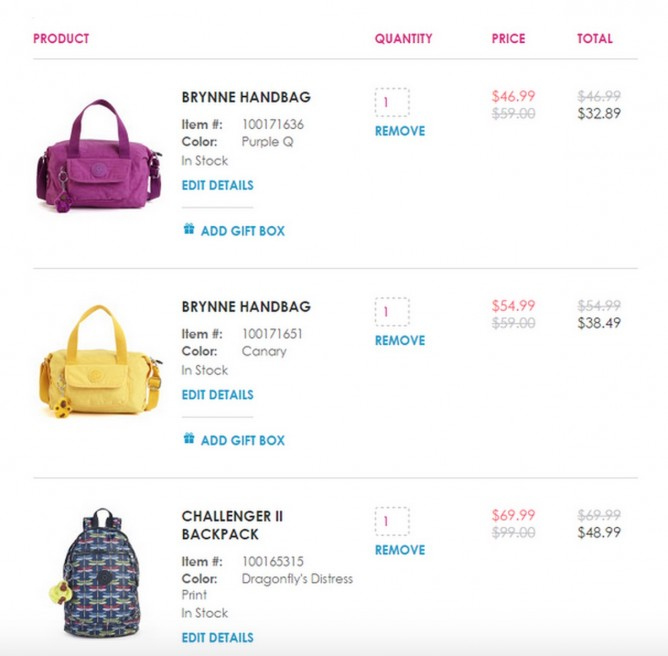 f8b472cdd6 The Semi-Annual Sale @ Kipling USA Additional 30% OFF - 👑BQ.sg ...