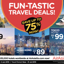 Up to 75% Savings Fun-Tastic Travel Deals @ AirAsiaGo