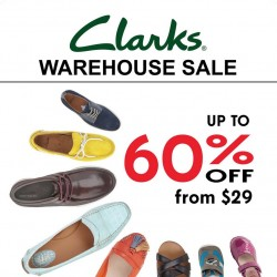 Clarks Warehouse SALE @ Shriro House (Near Redhill MRT)