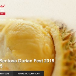 Resorts World Sentosa Durian Fest 2015 coming in July