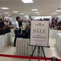 Coach semi-annual sale up to 50% off @ Takashimaya
