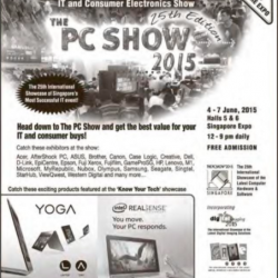 The PC show 2015  @ Expo