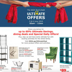 Up to 60% OFF Bed & Bath Ultimate offers @ IKEA