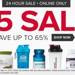 All for US$ Sale @ GNC USA