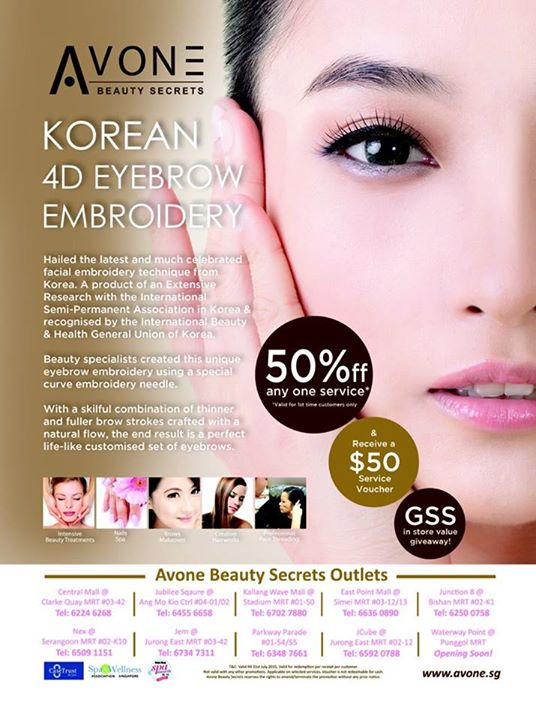GSS Special - Enjoy 50% Discount Off Any One Service @ AvonE Beauty Secrets  - 👑BQ.sg BargainQueen