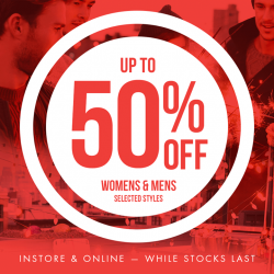 GSS promotion up to 50% off @ Cotton on