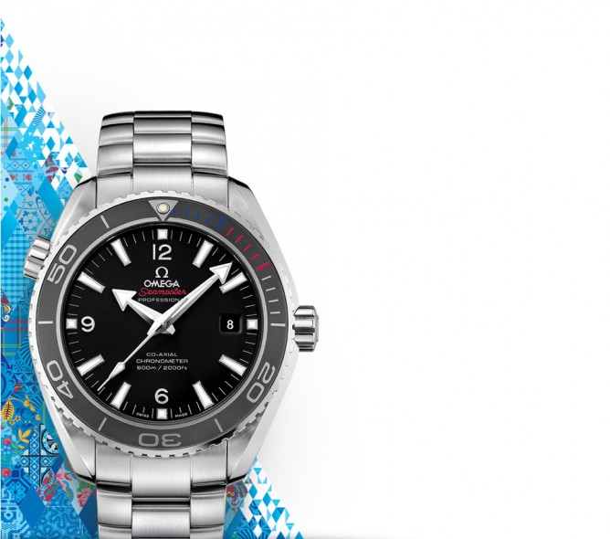 OMEGA Seamaster Planet Ocean OLYMPIC SOCHI Men's Watch @ Jomashop