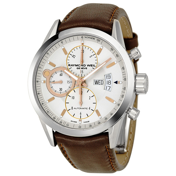RAYMOND WEIL Freelancer Chronograph Automatic Men's Watch @ Jomashop