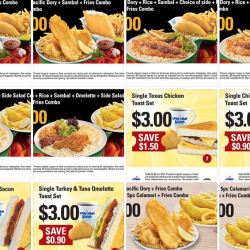 Long John Silver's Digital Coupons for 2 for S$10 deals