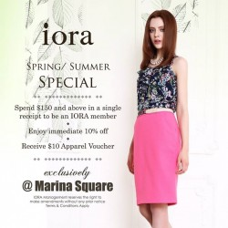 iora Marina Square: Spring / Summer Special Promotion