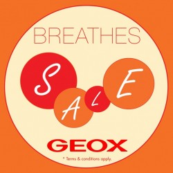 GEOX: Mid-Year Sale with new Spring & Summer collection