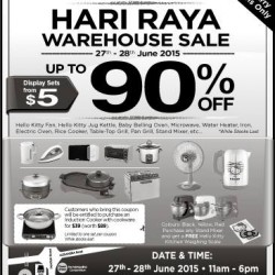 Cornell: Hari Raya Warehouse Sale