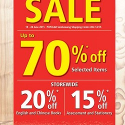 Popular Book: 70% off at POPULAR Sembawang Shopping Centre