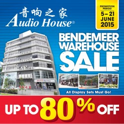 Audio House: warehouse sale up to 80% off