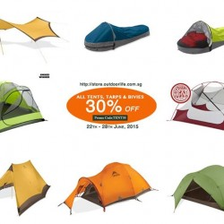 Outdoor Life: 30% off Tents, Tarps and Bivies