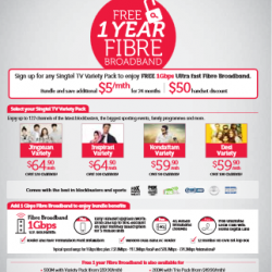 SingTel: PC show 2015 exclusive deals